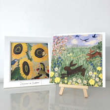 Colourful prints, cards and original artwork by Create.