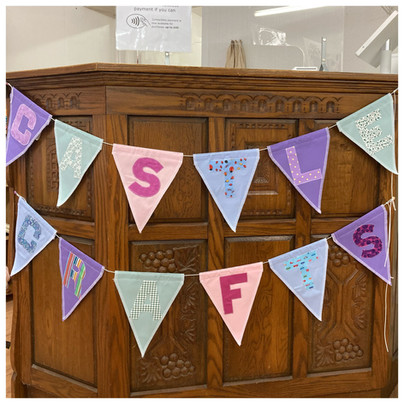 Castle Crafts bunting by Mothers & Daughters