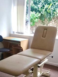 The garden clinic room