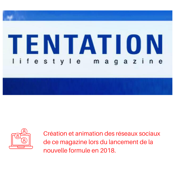 Tentation magazine