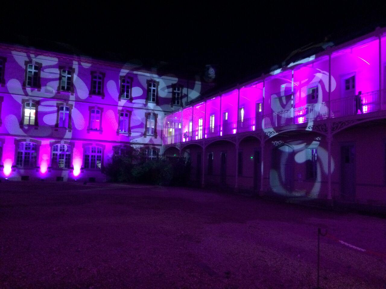 Le Campus, la nuit