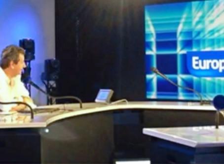 Christophe LEROY sur Europe 1 pour évoquer le mariage de Johnny Halliday avec Adeline Blondieau