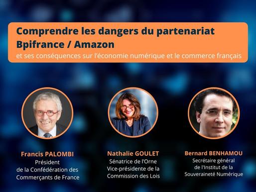 Les dangers du partenariat BPI France / Amazon