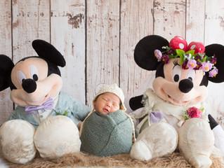 静岡市でのNewborn Baby Photo撮影