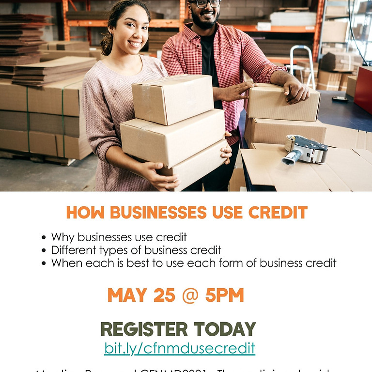 How To Use Business Credit Workshop