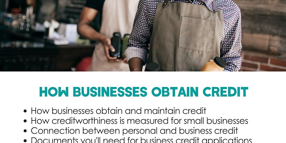 Obtain Business Credit Virtual Workshop