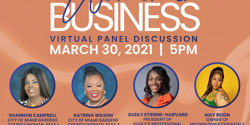 Women In Business Virtual Panel Discussion
