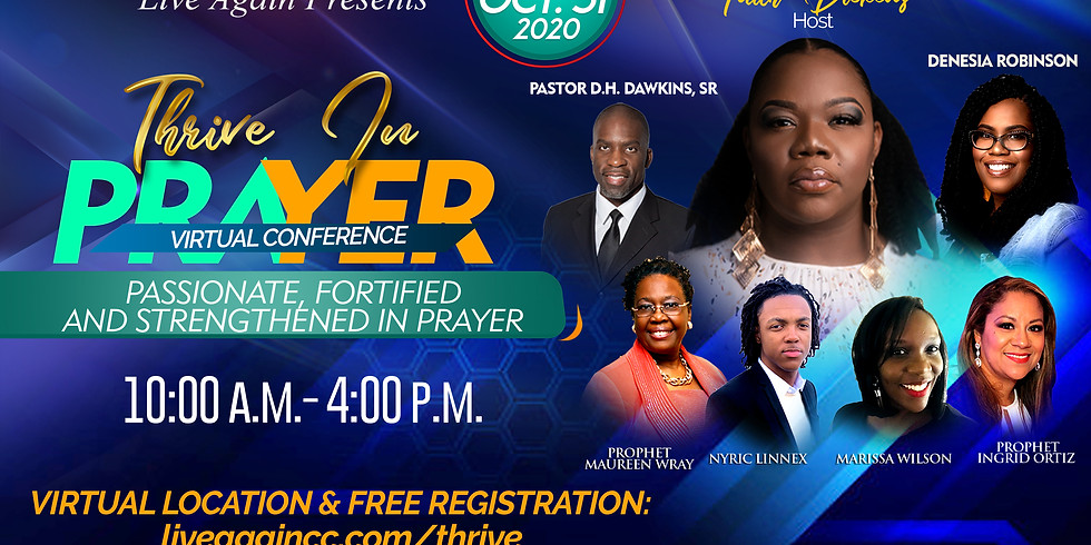 Thrive In Prayer Virtual Conference