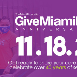 Top 5 reasons to donate to OLCDC on Give Miami Day
