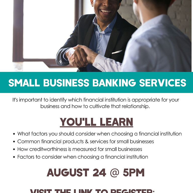 Small Business Banking Services Seminar