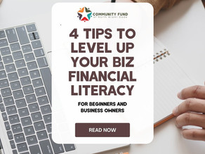 Leveling Up your Business Financial Literacy