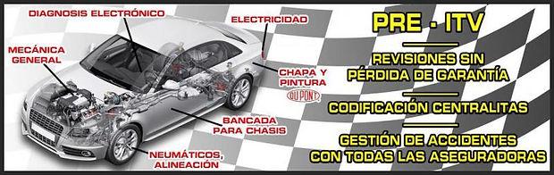 Taller G.J.D. Auto Body, Cartel servicios