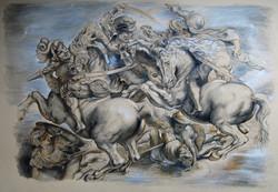 After Rubens' Battle of Anghiari