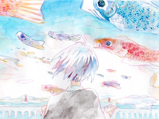 ▷「五月の鯉」