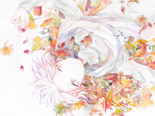 ▷秋に色づく