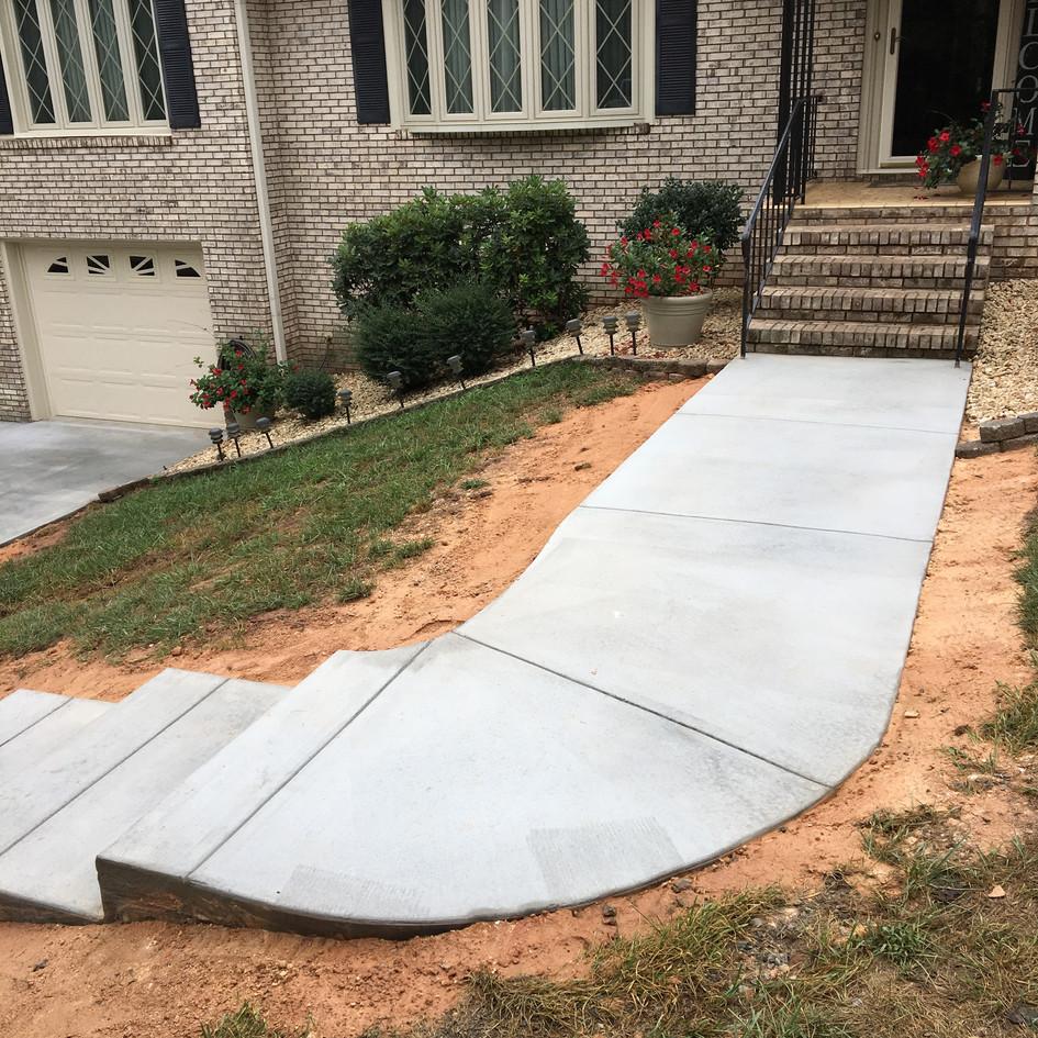 Gehman's Sidewalk Concrete
