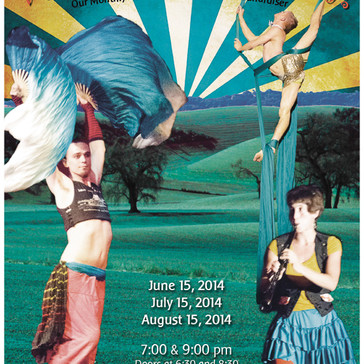 Bellingham Circus Guild Poster for Summer 2014