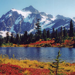 PIcture Lake at Mt. Baker