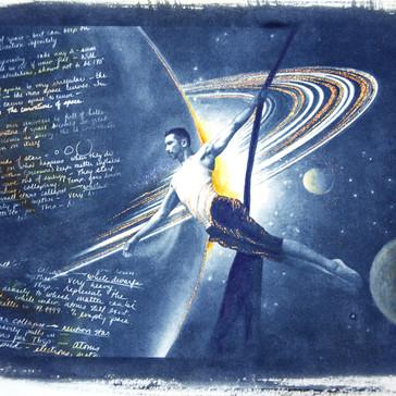 Soaring past Saturn