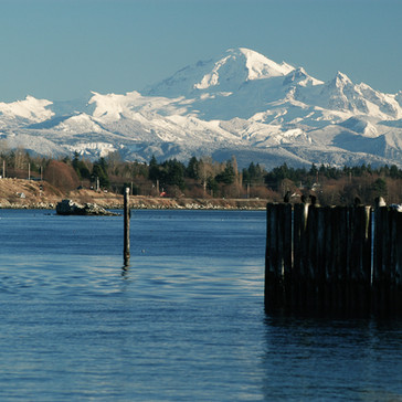 Mt. Baker from Semiahmoo