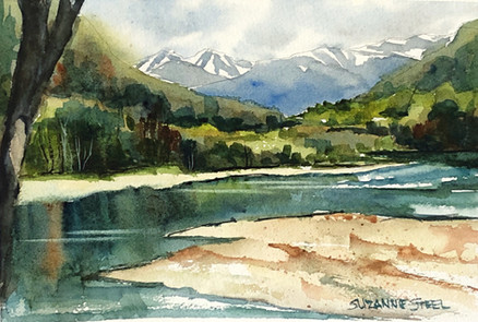 Upper Skagit River springtime 2021