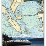 Bellingham Nautical Chart Poster