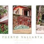 Puerto Vallarta Triptych Poster