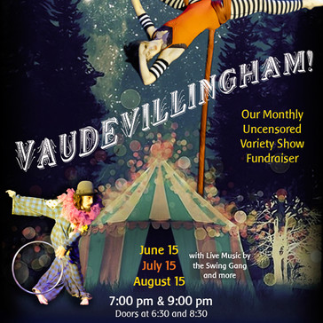 Bellingham Circus Guild Poster for Summer 2013