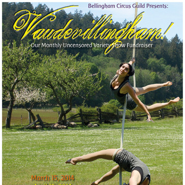 Bellingham Circus Guild Poster for Spring 2014