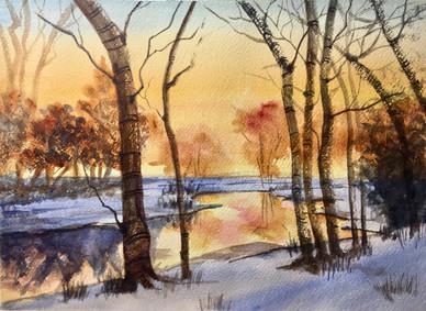 Dawn on the Muddy River