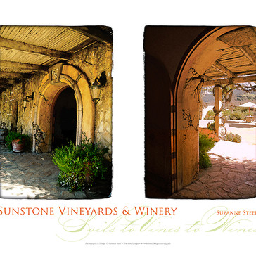 Sunstone Winery Diptych Poster