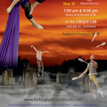 Bellingham Circus Guild Poster for Fall 2014
