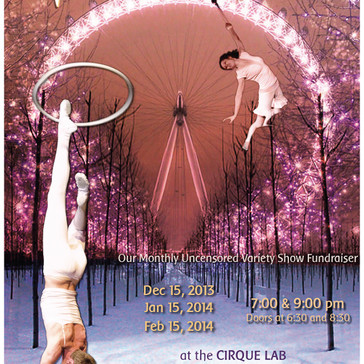 Bellingham Circus Guild Poster for Winter 2013-2014