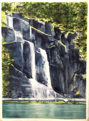 Butedale Falls