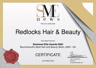 MAOct20515 - Redlocks Hair & Beauty Cert