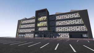 UE4 Mall Environment