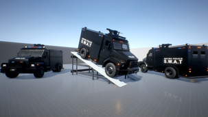 Drivable Swat Vehicle