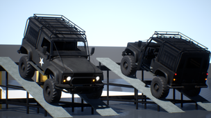 Drivable Off Road Vehicle