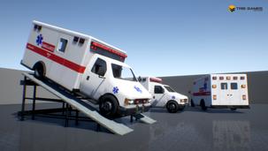 Drivable / Interior / Ambulance