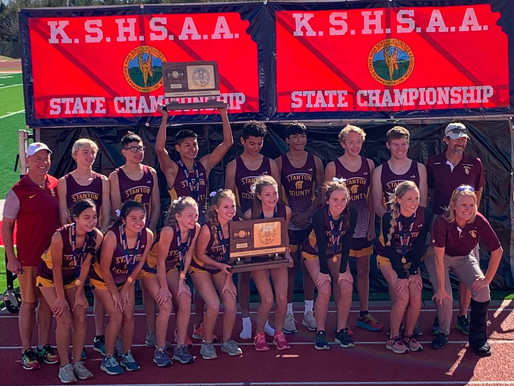 Stanton County completes Class 2A State CC title sweep