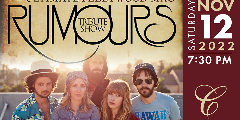 RUMOURS The Ultimate Fleetwood Mac Tribute Show