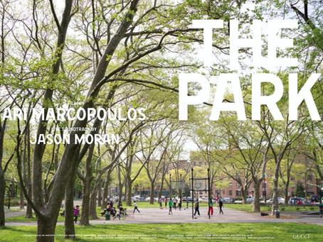 アリ・マルコポロス x ジェイソン・モラン協働『ザ・パーク』同志社大学(京都)上映 2019年