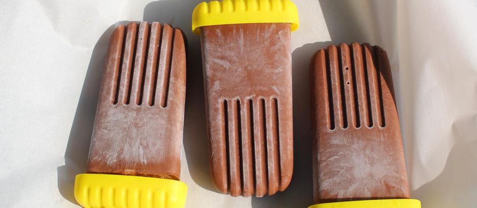Four-ingredient Fudgesicles