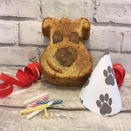Doggy Face Celebration Cake