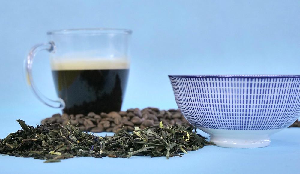 thé et café en grain bio