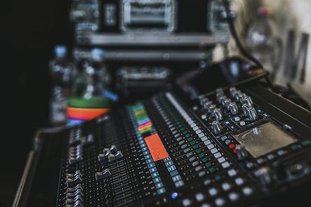 Gary Leonard Studio Mixing Desk