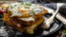 Ei und Speck-Sandwich