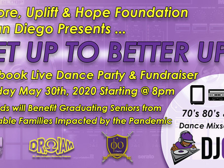 """Get Up To Better Up"" brings in funds for SD Teens"
