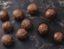 trufle mocno kawowe w czekoladzie