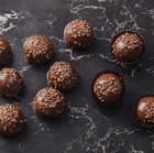 Runde Schokoladen-Trüffel